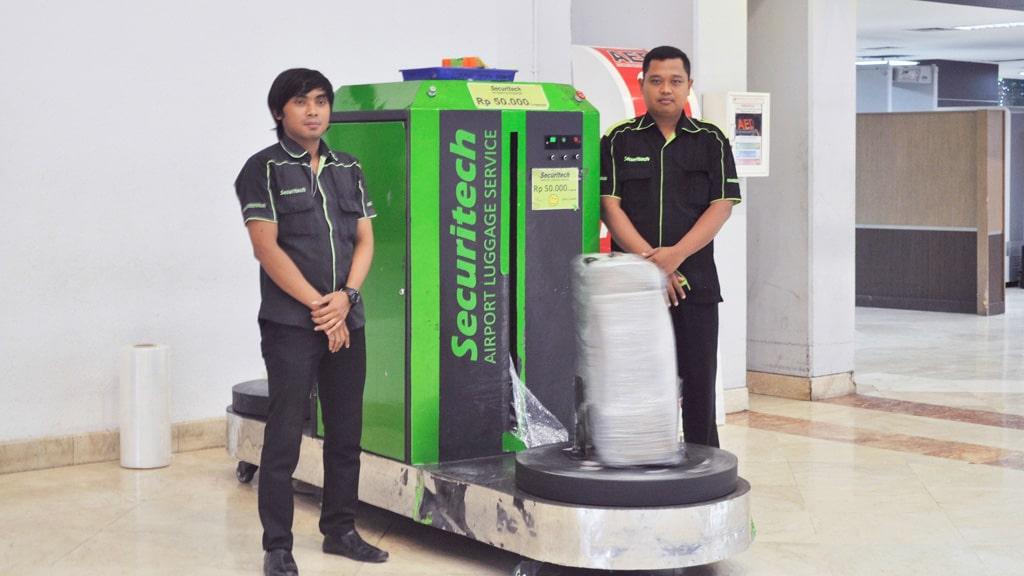 Jasa Pembungkusan Bagasi di Bandara Bandara Internasional Soekarno Hatta Jakarta 2