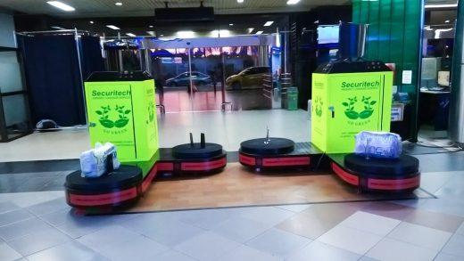 Jasa Pembungkusan Bagasi di Bandara Internasional Hang Nadim Batam 1