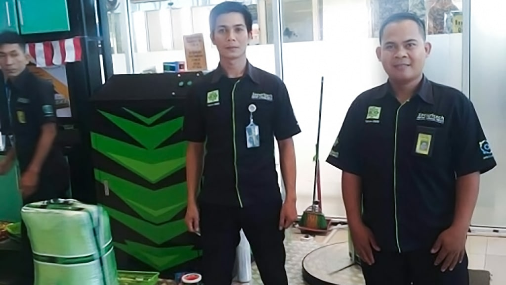 Jasa Pembungkusan Bagasi di Bandara Internasional Hang Nadim Batam 3