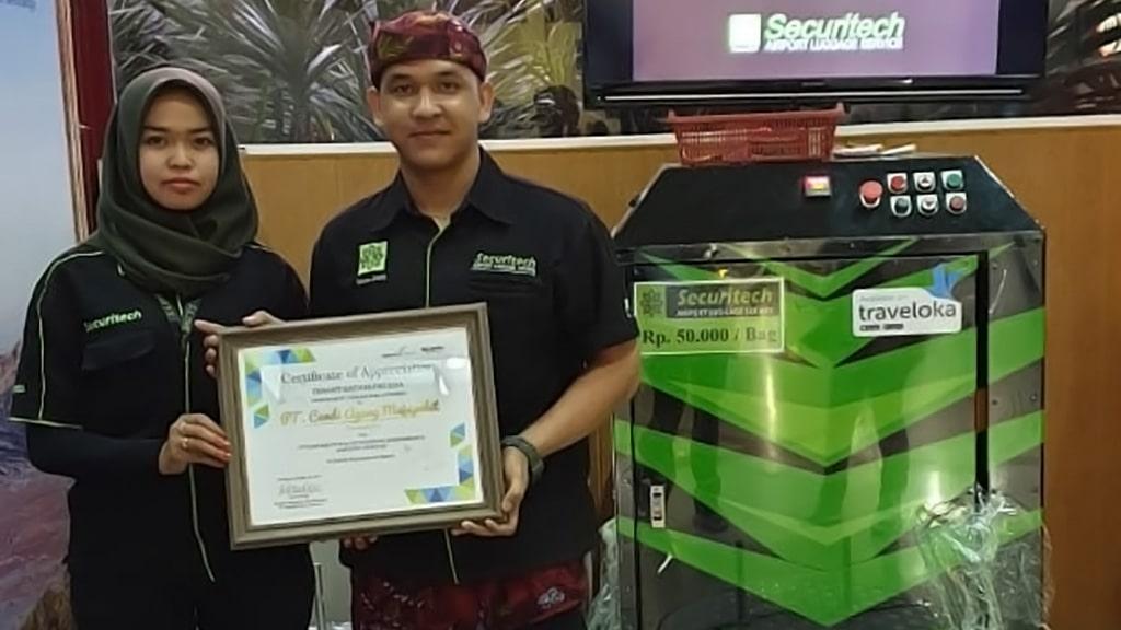 Jasa Pembungkusan Bagasi di Bandara Internasional I Gusti Ngurah Rai Bali 2
