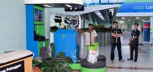 Jasa Pembungkusan Bagasi di Bandara Internasional Lombok 2