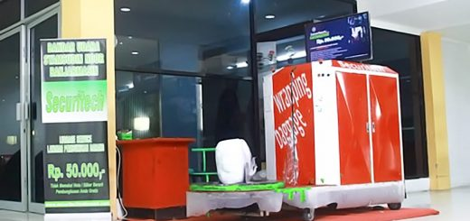 Jasa Pembungkusan Bagasi di Bandara Internasional Syamsudin Noor (BDJ) Banjarmasin 1