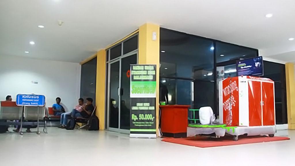 Jasa Pembungkusan Bagasi di Bandara Internasional Syamsudin Noor (BDJ) Banjarmasin 2