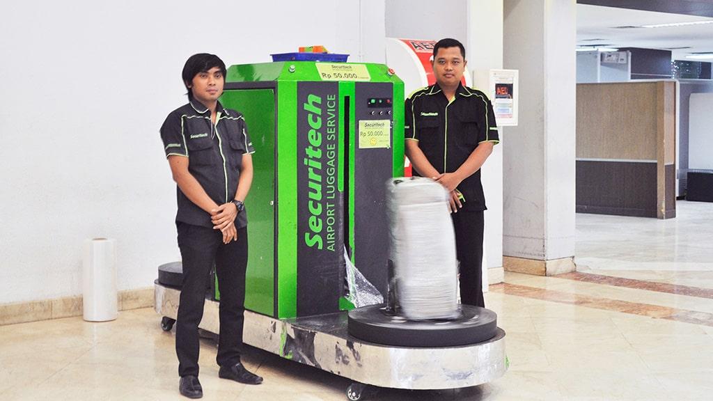 Layanan Pembungkusan Bagasi Jakarta